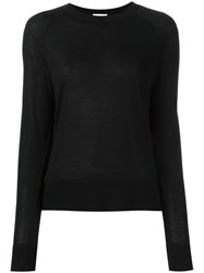 Dkny Raglan T Shirt Black