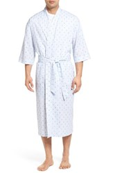 Majestic International Men's Anchor Print Robe
