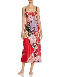 Natori Mikado Gown Russian Red