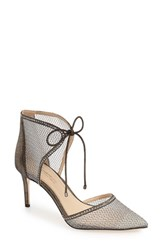 Imagine By Vince Camuto Women's 'Mark' Mesh Panel D'orsay Pump Anthracite Suede