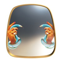 Seletti Wears Toiletpaper Mirror Hands With Snakes