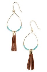 Panacea Women's Tassel Fringe Drop Earrings
