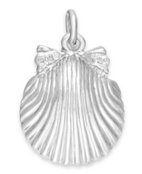 Rembrandt Charms Sterling Silver Shell Charm