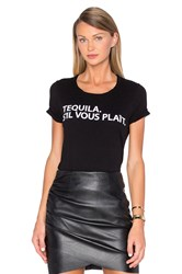 Chaser Tequila Please Tee Black