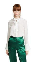Edition10 Ruffled Blouse Snow White
