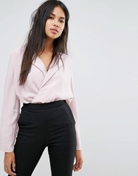 Ivyrevel Wrap Front Blouse Dusty Pink