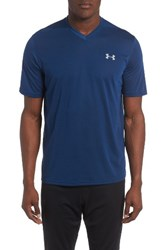 Under Armour Men's Regular Fit Threadborne T Shirt Blackout Navy