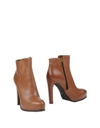 Tiffi Ankle Boots Brown