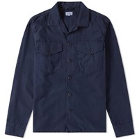 Hartford James Shirt Jacket Blue