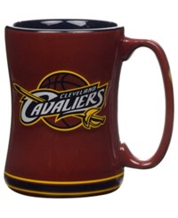 Boelter Brands Cleveland Cavaliers 15 Oz. Relief Mug Maroon