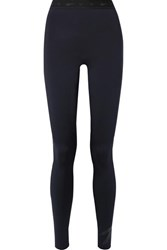 Reebok X Victoria Beckham Stretch Leggings Midnight Blue