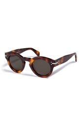 Celine Teddy Sunglasses In Havana Gr. One Size