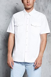 Forever 21 Slim Fit Cotton Shirt