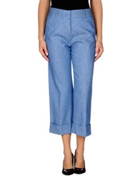 Ql2 Quelledue Casual Pants Blue