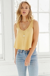 Truly Madly Deeply Swingy Tank Top Yellow