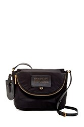 Marc By Marc Jacobs Mini Natasha Nylon Crossbody Black