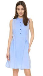 Paul Smith Shirtdress With Pockets Light Blue