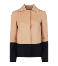 Hugo Boss Colour Block Pea Jacket Female Multi