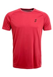 Your Turn Active Basic Sports Shirt Brick Red