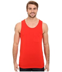 The North Face Crag Tank Top Fiery Red Men's Sleeveless