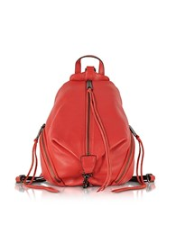 Rebecca Minkoff Genuine Leather Medium Julian Backpack Orange
