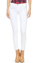 Ag Adriano Goldschmied Legging Ankle Jeans White