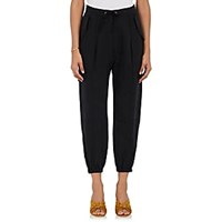 Ulla Johnson Twill Drawstring Waist Cargo Pants Black