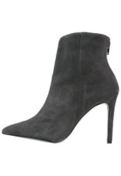 Warehouse Ankle Boots Grey