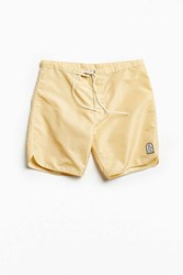 Katin Made In The Usa Dolphin Swim Trunk Beige