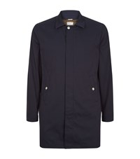 Brunello Cucinelli Lightweight Car Coat Male Navy