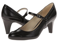 Naturalizer Orianne Black Leather Shiny Women's Shoes