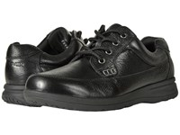 Nunn Bush Cam Oxford Casual Walking Shoe Black Tumbled Leather Lace Up Casual Shoes