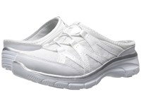 Skechers Easy Going Repute White Silver Women's Shoes