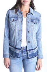 Kut From The Kloth Double Release Hem Denim Jacket Foresight