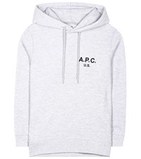 A.P.C. Cotton Hoodie Grey