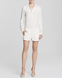 Twelfth St. By Cynthia Vincent Twelfth Street By Cynthia Vincent Romper Long Sleeved Shirt