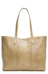 Frye Melissa Leather Shopper Brown Sand