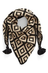 Capelli Of New York Women's Knit Triangle Scarf
