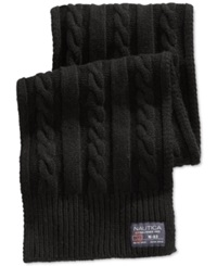 Nautica Cable Knit Scarf