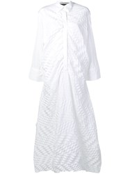 Roland Mouret Penhale Shirt Dress White