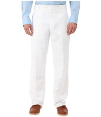 Perry Ellis Classic Fit Linen Portfolio Pant Bright White Men's Dress Pants