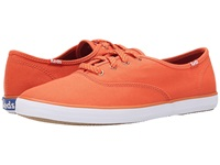 Keds Champion Oxford Orange Rust Canvas Women's Lace Up Casual Shoes