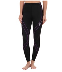 Cw X Pro Tight Black Purple Women's Workout Multi