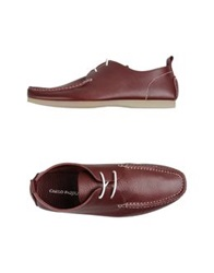 Carlo Pazolini Lace Up Shoes Maroon