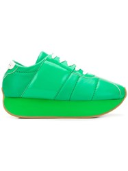 Marni Big Foot Sneakers Green