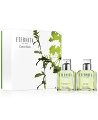 Calvin Klein 2 Pc. Eternity For Men Gift Set No Color