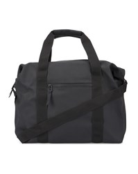 Rains Black Waterproof Zipped Bag