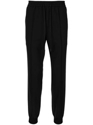 Juun.J Drawstring Tailored Trousers Black