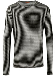 Barena Striped Jumper Grey