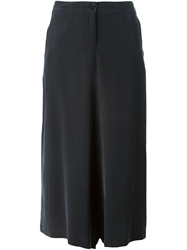 Douuod Cropped Trousers Black